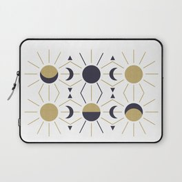 Moon and Sun Laptop Sleeve