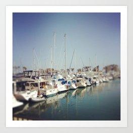 Dana Point Marina Art Print