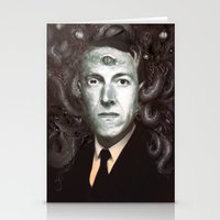 lovecraft Stationery Cards featuring H.P. Lovecraft  by MATT DEMINO