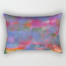 Bright Sky Abstract Rectangular Pillow
