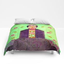 Frida Kahlo´s Dreams Comforters
