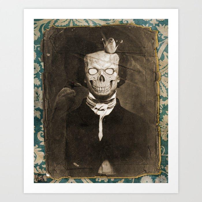 the lunatic Art Print