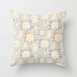 Sun & moon. Throw Pillow