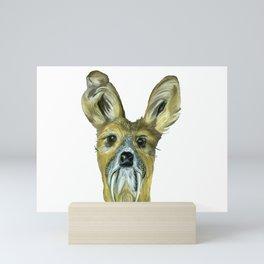 Deer (Musk Deer) Mini Art Print