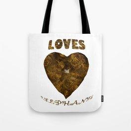 Mosaic of Elephants Tones Earth V T-Shirts Tote Bag