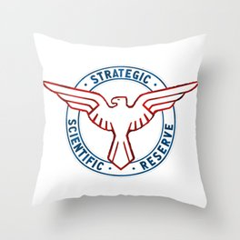 If Steve Was in Charge of the SSR Throw Pillow