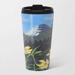 Lemon Lilies Return to Idyllwild Travel Mug