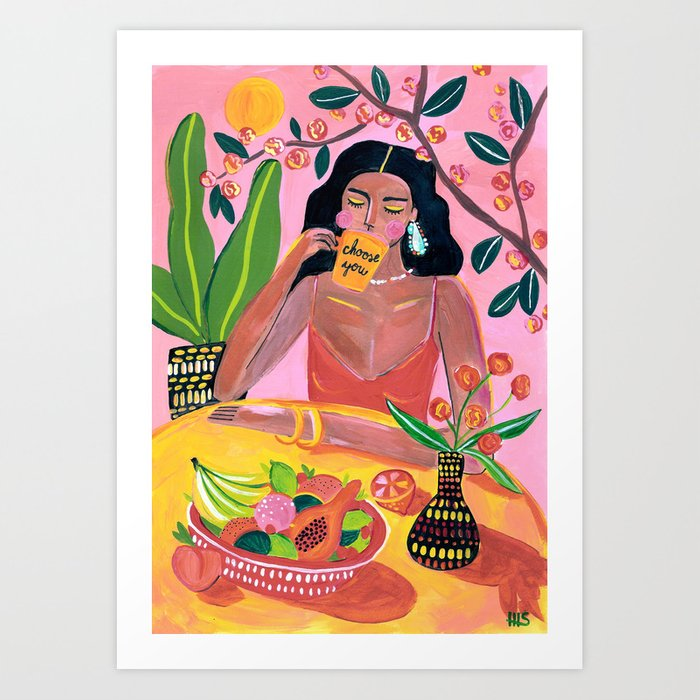 Choose you Art Print