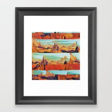 MÑTQM Framed Art Print
