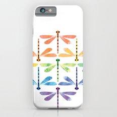 Rainbow Damselflies Slim Case iPhone 6s