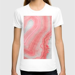 Coral Pink Agate  T-shirt