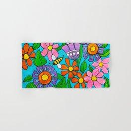 Springtime Series #4 Bee's Hand & Bath Towel