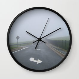 Fogged In/Wrong Way Wall Clock