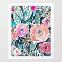 GARDENS OF CAPITOLA Watercolor Floral by barbraignatiev