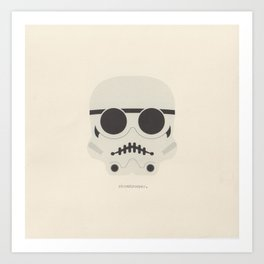 you're a little short for a stormtrooper Art Print