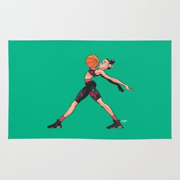 CoolNoodle and AirJordan6 Playoffs Rug