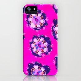 Pink Nevada Rose iPhone Case