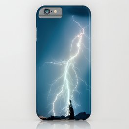 Glowing Static Charm iPhone Case