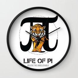 Life of Pi - Alternative Movie Poster Wall Clock