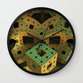 Puzzle Box Wall Clock