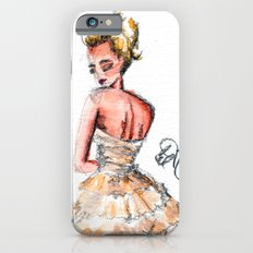 Fashion Watercolor Couture Gown Slim Case iPhone 6s