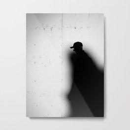 Captured by Shadow Metal Print
