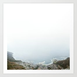 From Table Mountain III Art Print