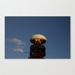 Escaramuza rider Canvas Print