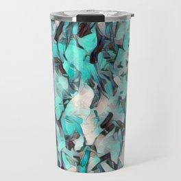 Confetti Caribbean Aqua Travel Mug