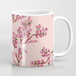 Sakura Branch Painting Coffee Mug