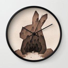 That's No Ordinary Rabbit Wall Clock