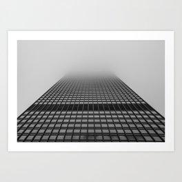 Foggy Chicago Morning 004 Art Print