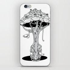 The alien tree iPhone & iPod Skin