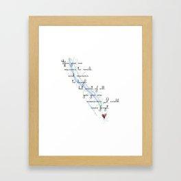 Skaneateles Memories Framed Art Print