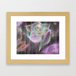 Hard to be soft. Tough to be tender. Framed Art Print