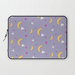 Moon Bunnies Pattern Sheet Duvet - V2 Laptop Sleeve