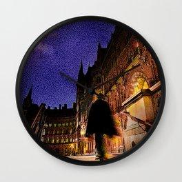 Victorian London Architecture Wall Clock