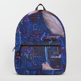 Swimming In A False Idaho Backpack