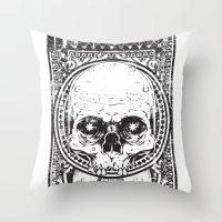 illuminati Throw Pillows featuring Illuminati by Tshirt-Factory