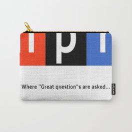 Great Question - NPR Carry-All Pouch