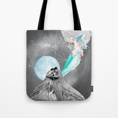 FUTURE IS BLUE Tote Bag