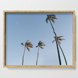Palm Trees and Moon Beams Serving Tray