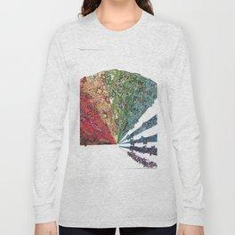 Fan Coming Apart Long Sleeve T-shirt