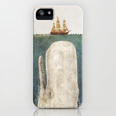 The Whale - vintage option iPhone (5, 5s) Slim Case