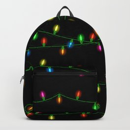 Christmas lights collection Backpack