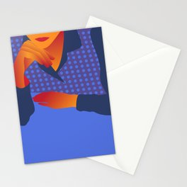 Waiting for coffee Stationery Cards
