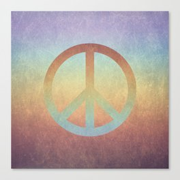 Peace V Canvas Print
