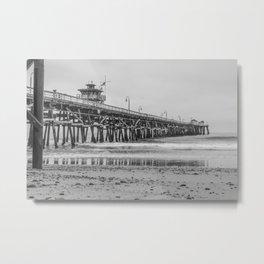 Northside San Clemente Pier Metal Print
