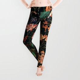Exotic Garden Leggings