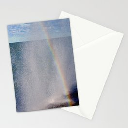 Lake Michigan Natural Fountains #5 - Sunbow (Chicago Waves Collection) Stationery Cards